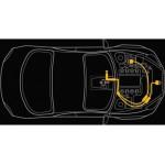 Совместный блокиратор КПП и капота Гарант 2Lock для Mazda CX-5 2017-2020